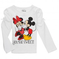 Bluza maneca lunga Minnie & Mickey