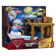 Cars 2 – Set barca Crabby si Finn Agentul Secret