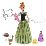 Anna Deluxe Singing Doll Set