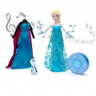 Elsa Deluxe Singing Doll Set