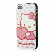 Carcasa Phone 4/4s - Heart by Hello Kitty