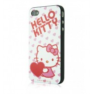 Carcasa iPhone 4/4s - Heartfull by Hello Kitty
