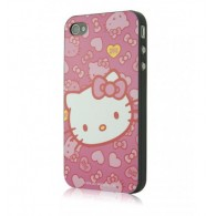 Carcasa Phone 4/4s - Hearts and Bows by Hello Kitty