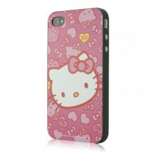Carcasa iPhone 4/4s - Hearts and Bows by Hello Kitty