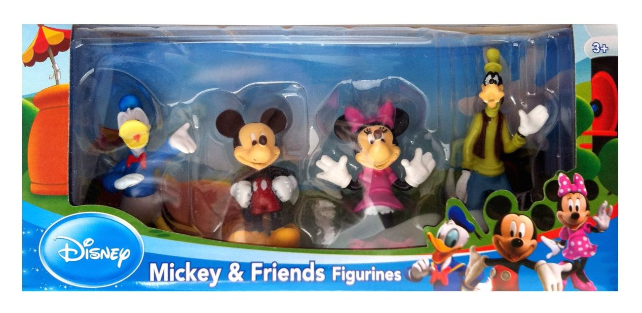 Mickey si Prietenii - Set 4 Figurine
