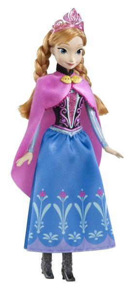Printesa Anna Stralucitoare - Disney Frozen