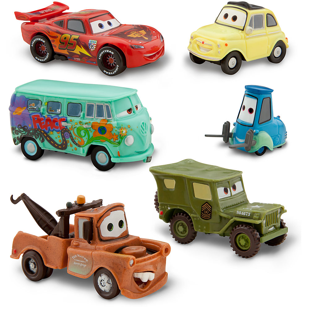Cars - Set Figurine Disney